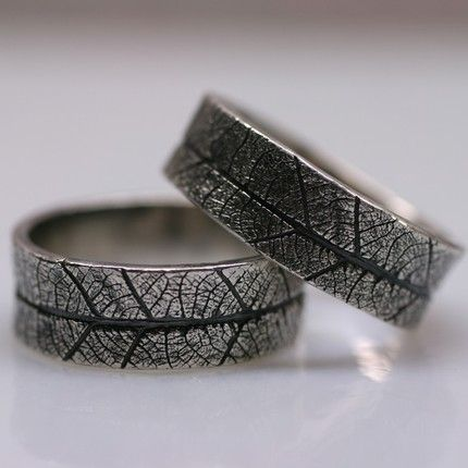 a mountain bride nature rings - Nature Inspired Wedding Rings