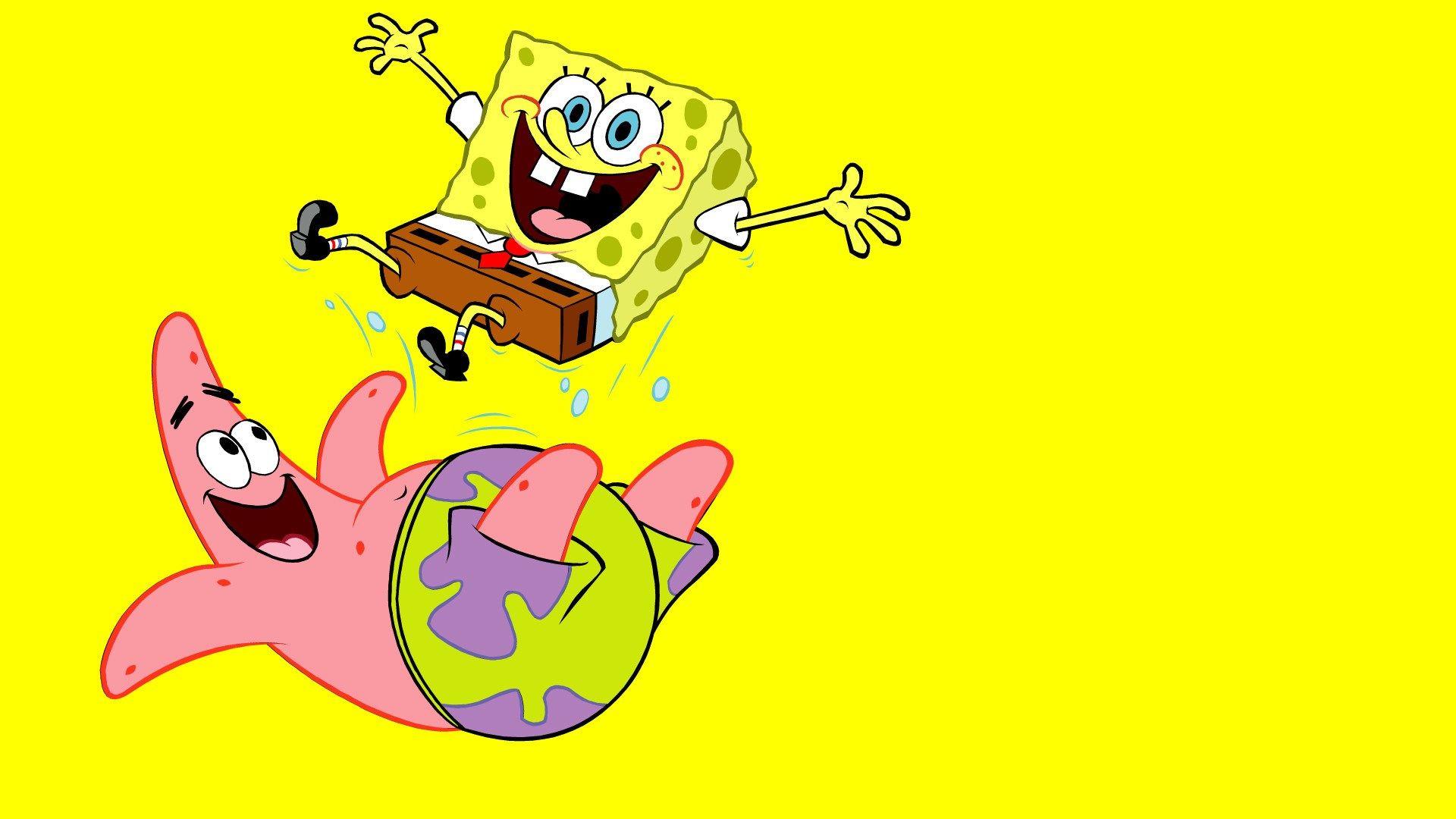 Spongebob Amp Patrick 3840 X 2160 Wallpaper Spongebob Wallpaper Hd Iphone Kartun