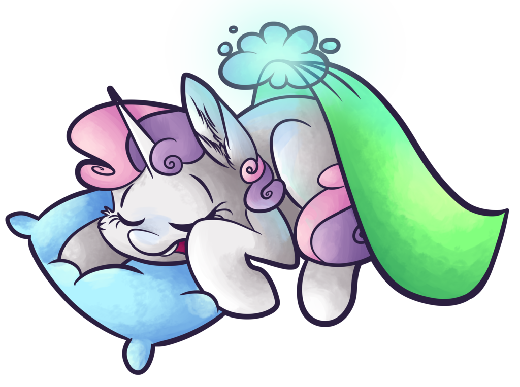 Sleeping Sweetie Belle by CutePencilCase.deviantart.com on @DeviantArt