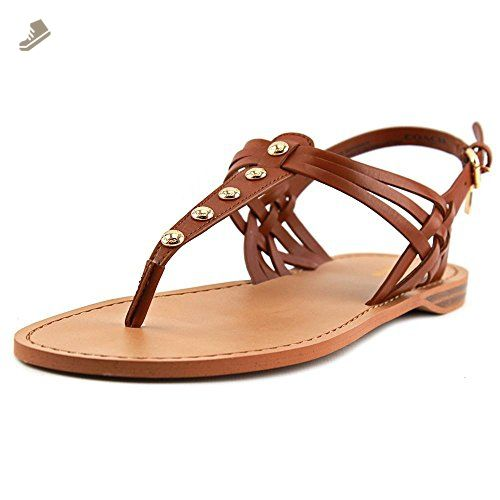 COACH Women's Caleigh Saddle Soft Vegan Leather Sandal 7 M - Coach pumps  for women (