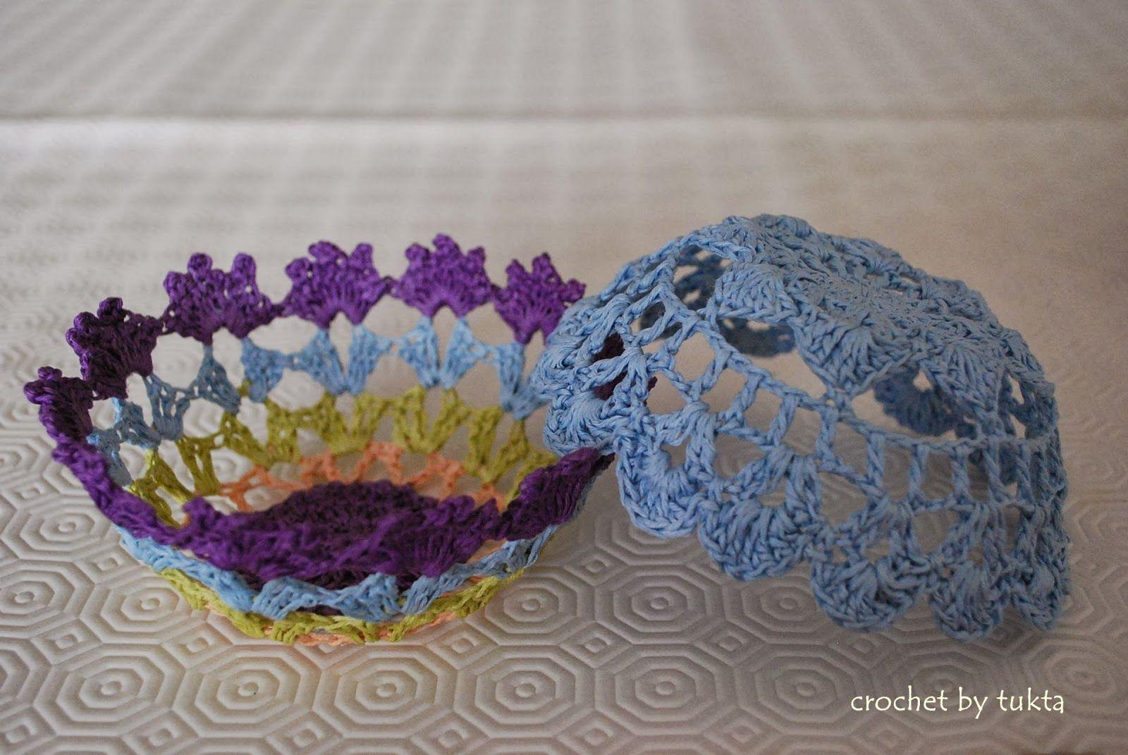 Crochet by Tukta: bowl