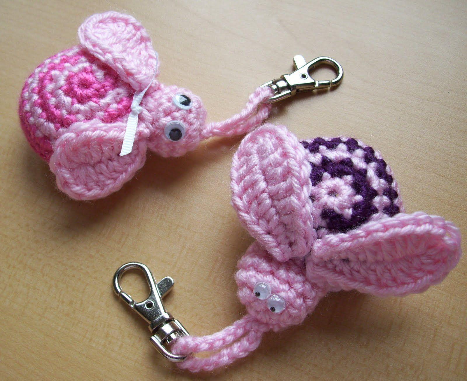 Amigurumis Pequeños Para Llaveros : Llaveros bichitos llaveros al crochet llaveros