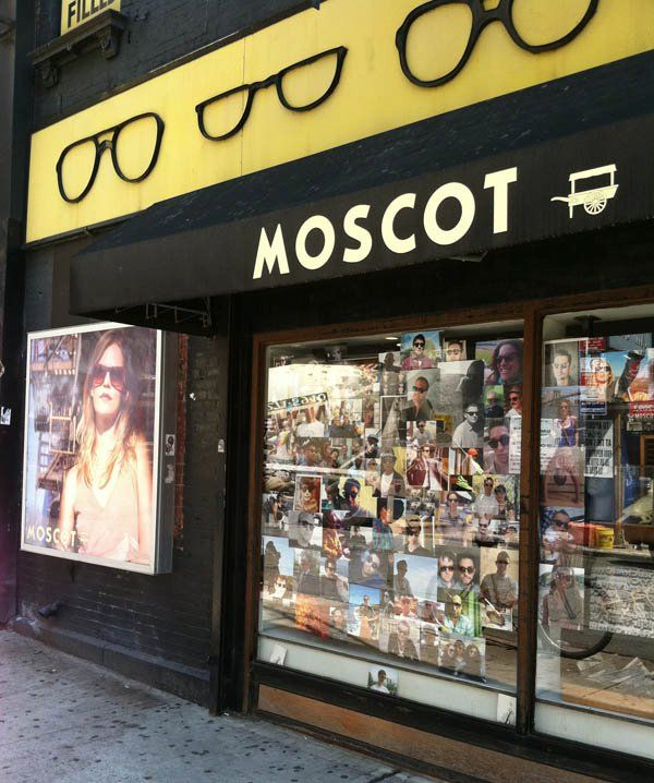 3950799a12 The MOSCOT Sun Summer Snap Exhibit on display at our Orchard Street Gallery.