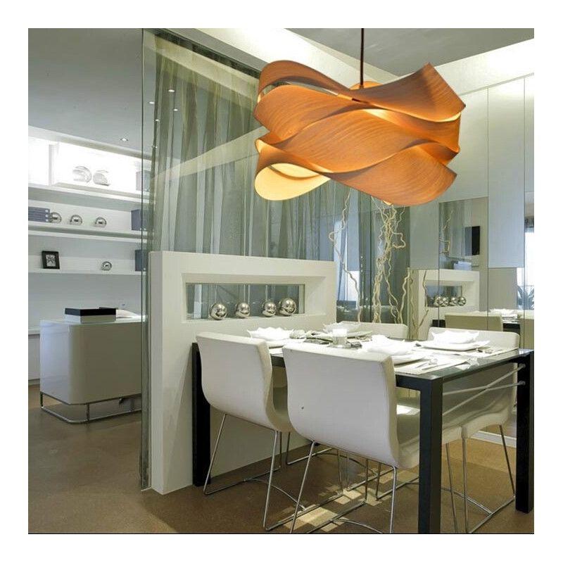 eu lager pendelleuchte holz landhaus stil welle design 1 flammig interieur pinterest. Black Bedroom Furniture Sets. Home Design Ideas