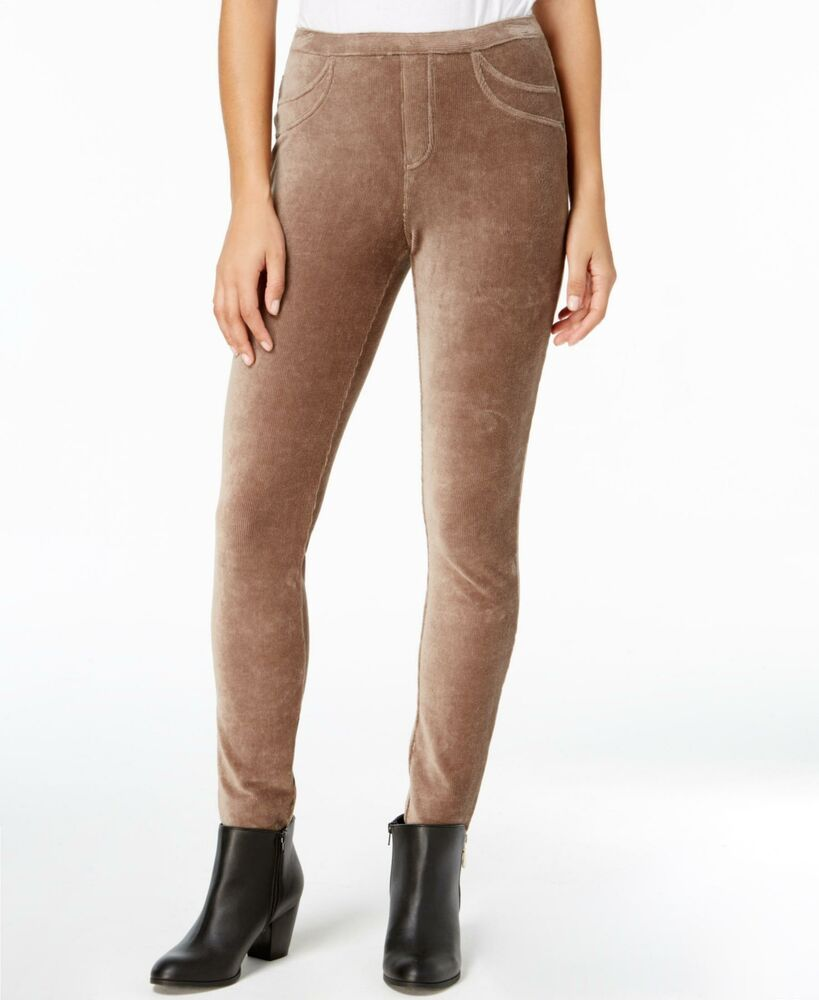 149cc0e45830d (Advertisement)eBay- Style & Co. 3812 Size XL Womens NEW Taupe Ribbed Legging  Corduroy 2 Pockets $49