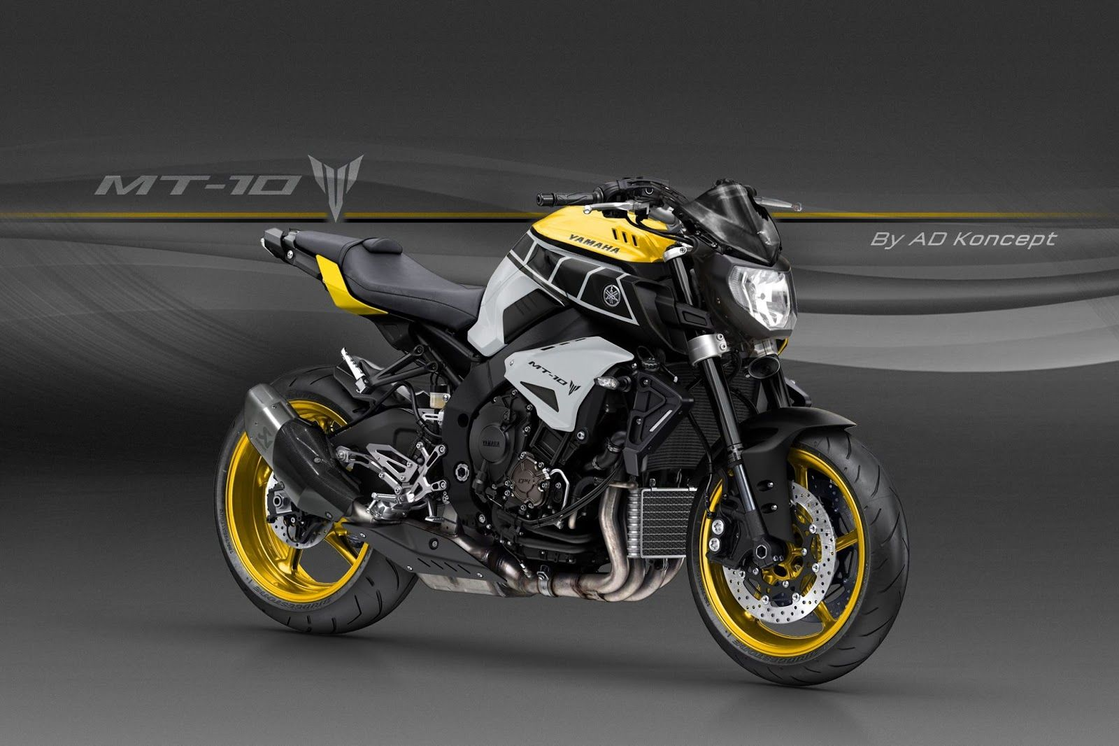 Racing caf design corner yamaha mt 10 by ad koncept motorcyles pinterest yamaha motorbikes and sportbikes