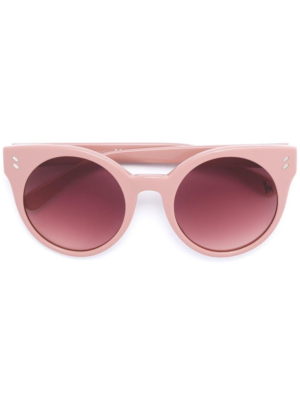 36f8c655806 Stella Mccartney Kids hard round frame sunglasses