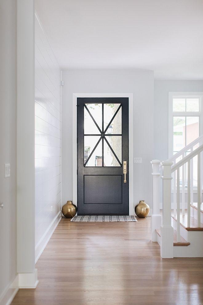 Benjamin Moore Wrought Iron 2124 10 All Doors On The First Floor