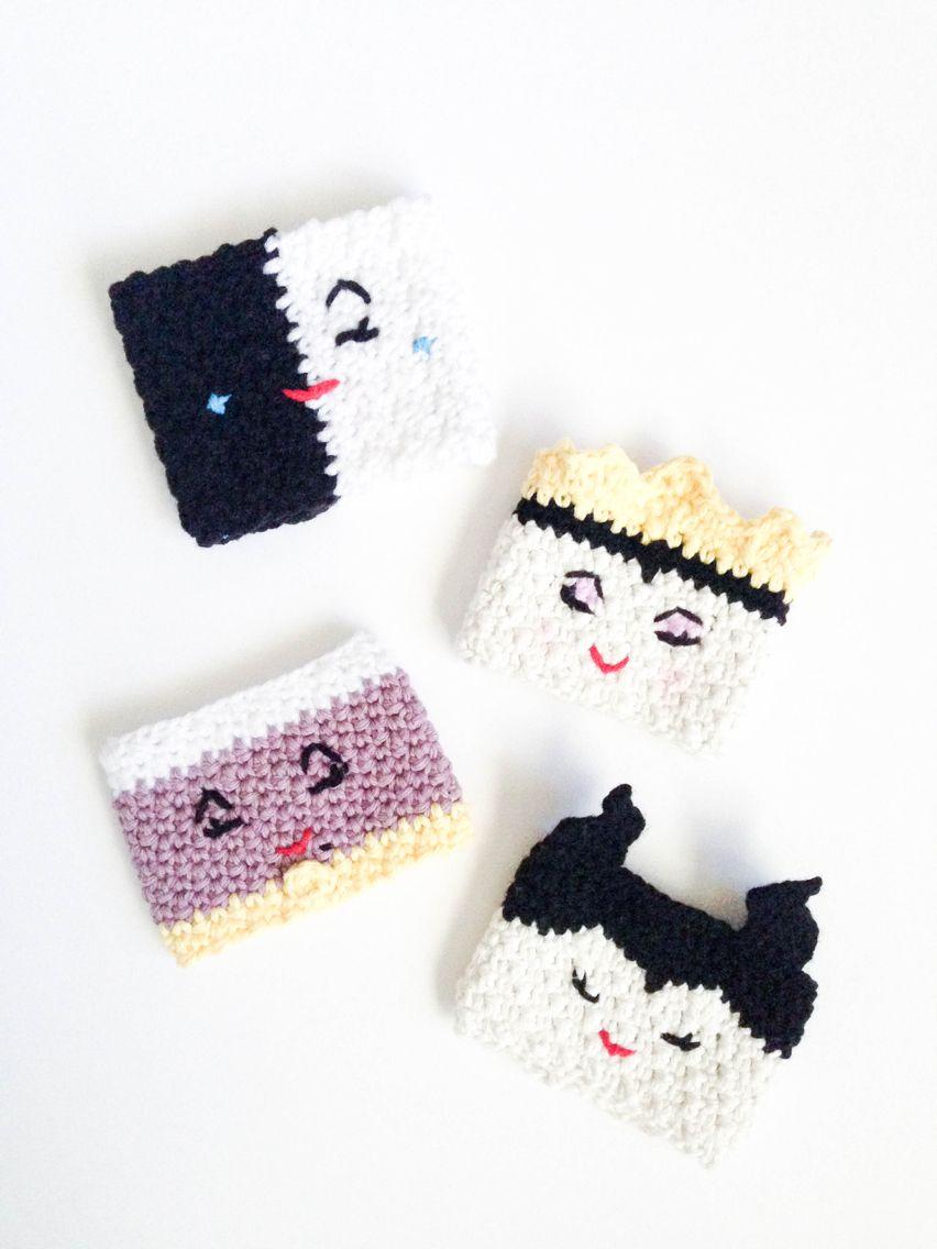 Disney evil queen cup cozy | Crochet | Pinterest