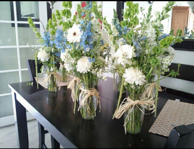 Boy Baby Shower Floral Arrangements | Baby Shower ...