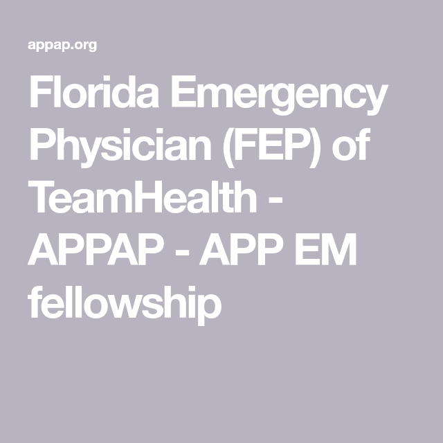 Florida Emergency Physician (FEP) Of TeamHealth