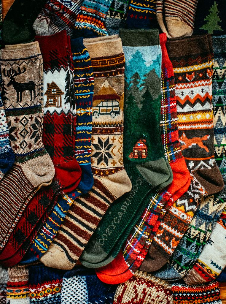 Cozy Cabin Sock Favorite Sweater Winter Socks Warm Feet