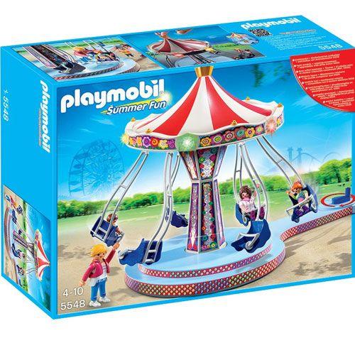 Precio: 50,00 € (+ 3,99 envío) Playmobil 5548: Carrusel con luces de la categoria Summer Fun. Disponible en: http://www.playmoclicks.com/es/summer-fun-feria/278-carrusel-con-luces.html