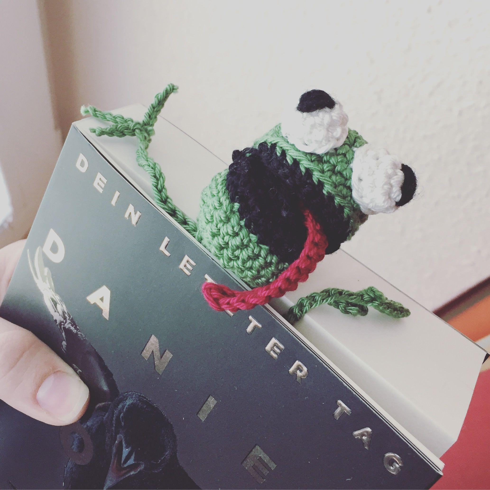 Lesezeichen Frosch Häkeln Pinterest
