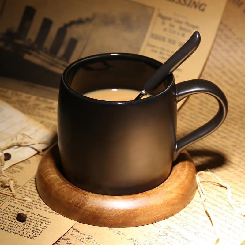 Porcelain Coffee Mug With Dark Color Mini Coffee Cups Mugs Coffee Mugs