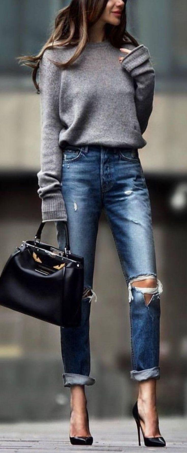 Y Moda Vaqueras Ripped Invierno Pinterest Jeans Ropa Chaquetas vWgZUq