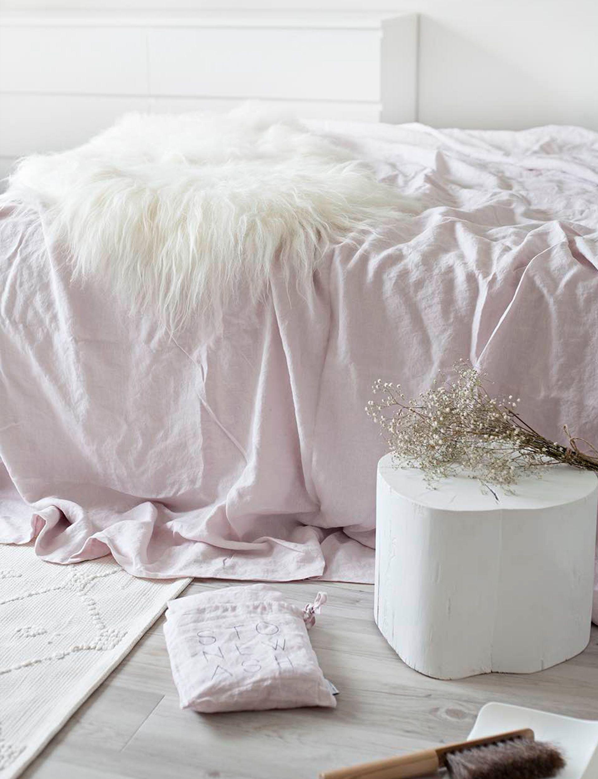 How To Wash Linen Sheets Diy Linen Duvet Washed Linen Duvet