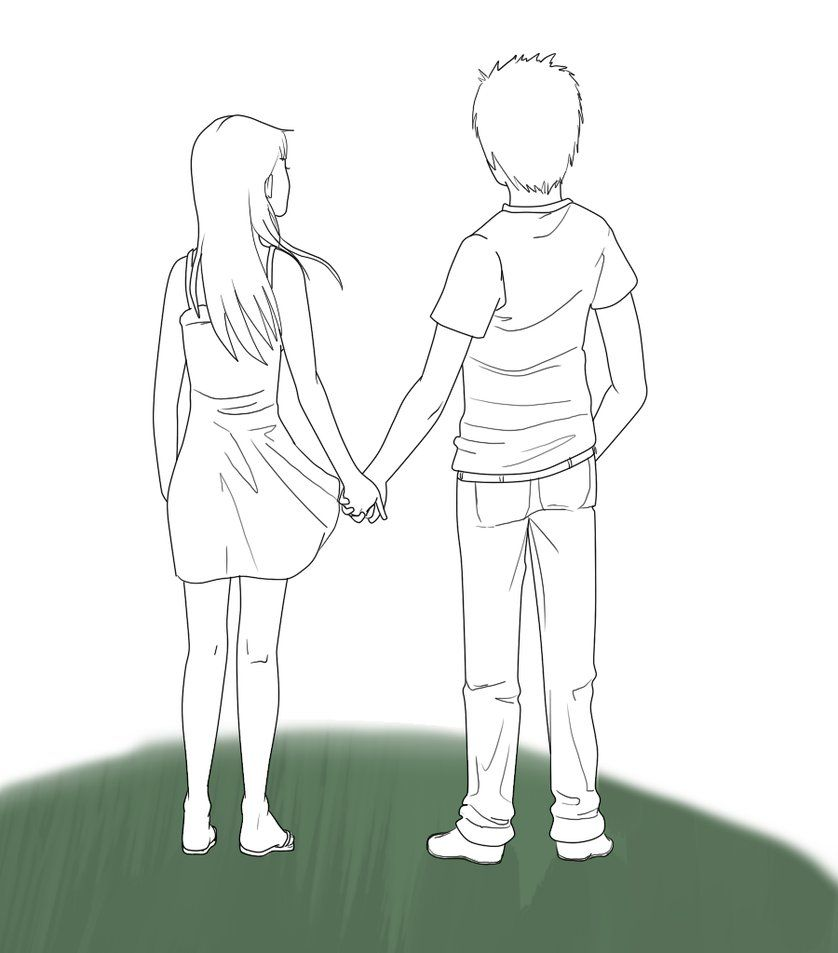 20+ New For Drawing Anime Couple Holding Hands