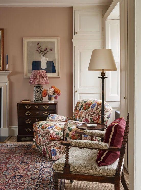 stunning elegant living room georgian   A Highgate Home by Ben Pentreath   Georgian homes, Living ...