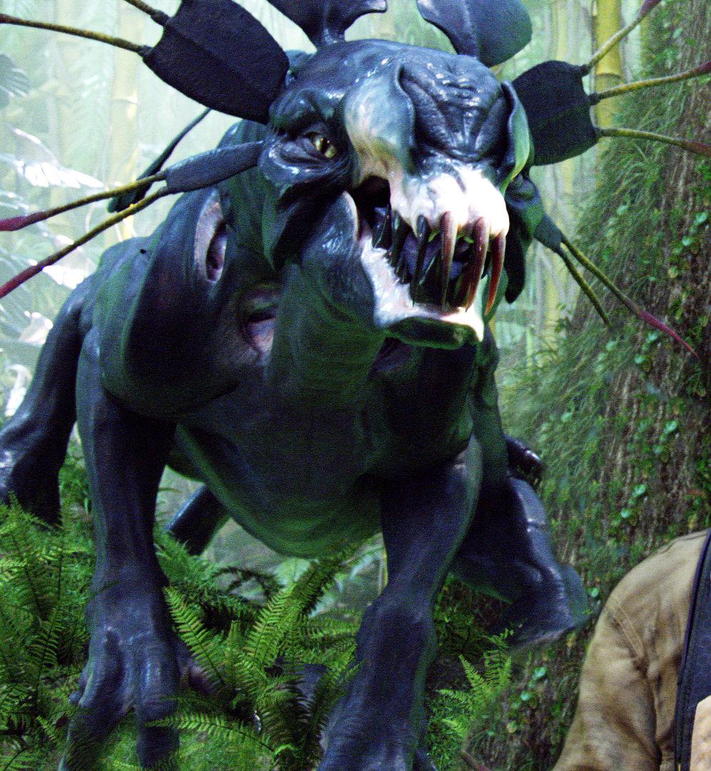 Avatar Film Cast: Avatar And Zoe Saldana