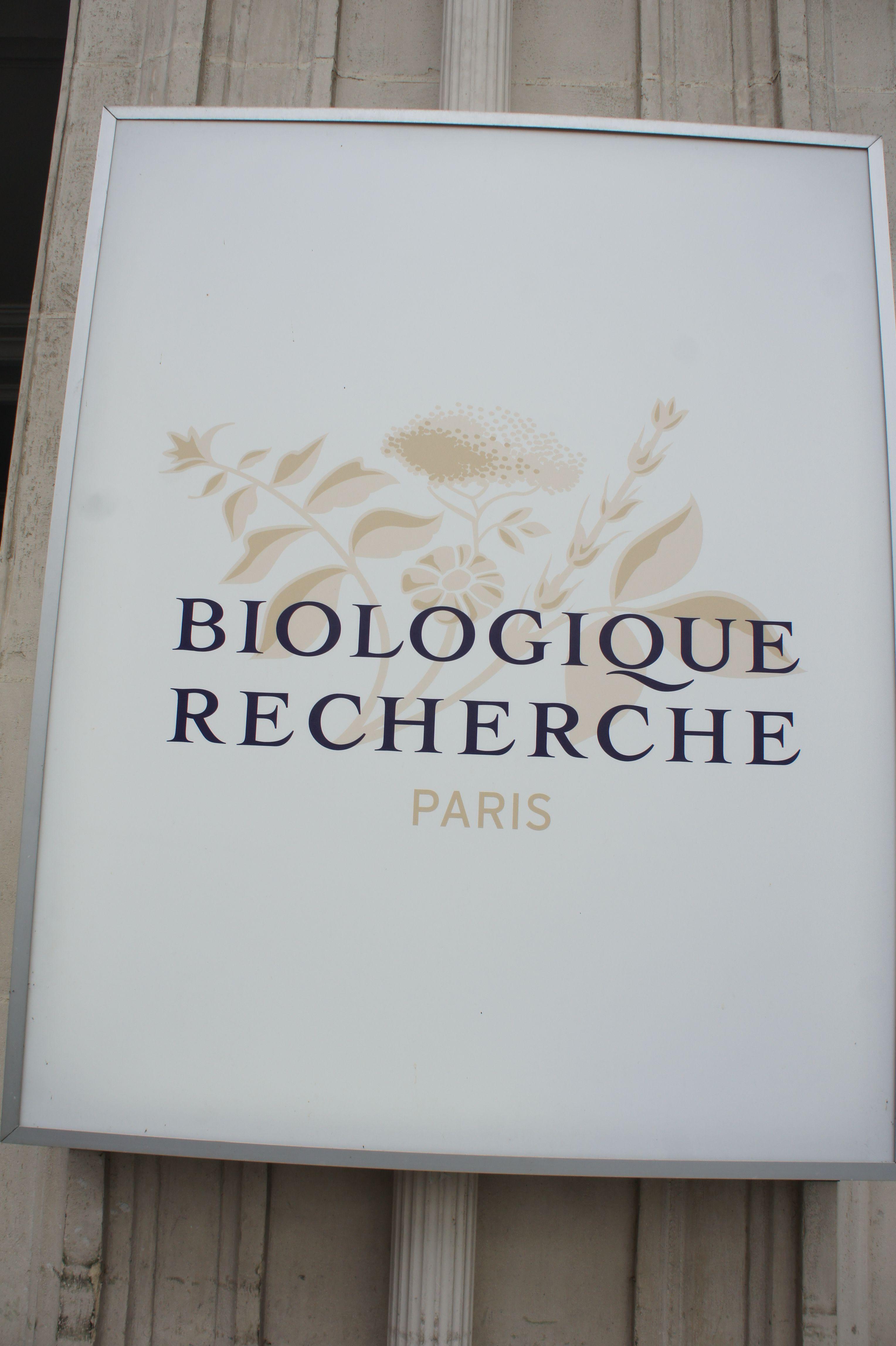 Decor at Biologique Recherche, Paris Spa decor, Novelty