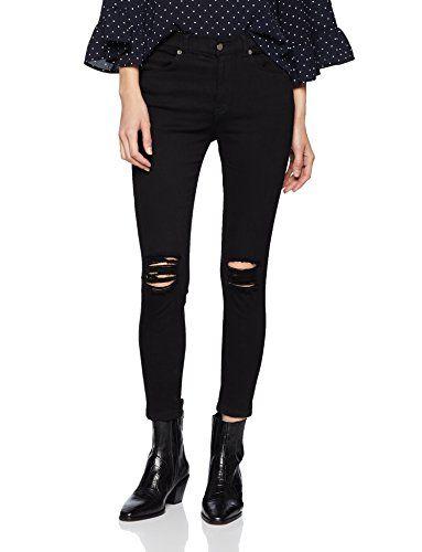 Verkauf Einzelhändler Billiger Preis Auf Abstand Dr. Denim Damen Skinny Jeans Lexy Schwarz (Black Ripped ...
