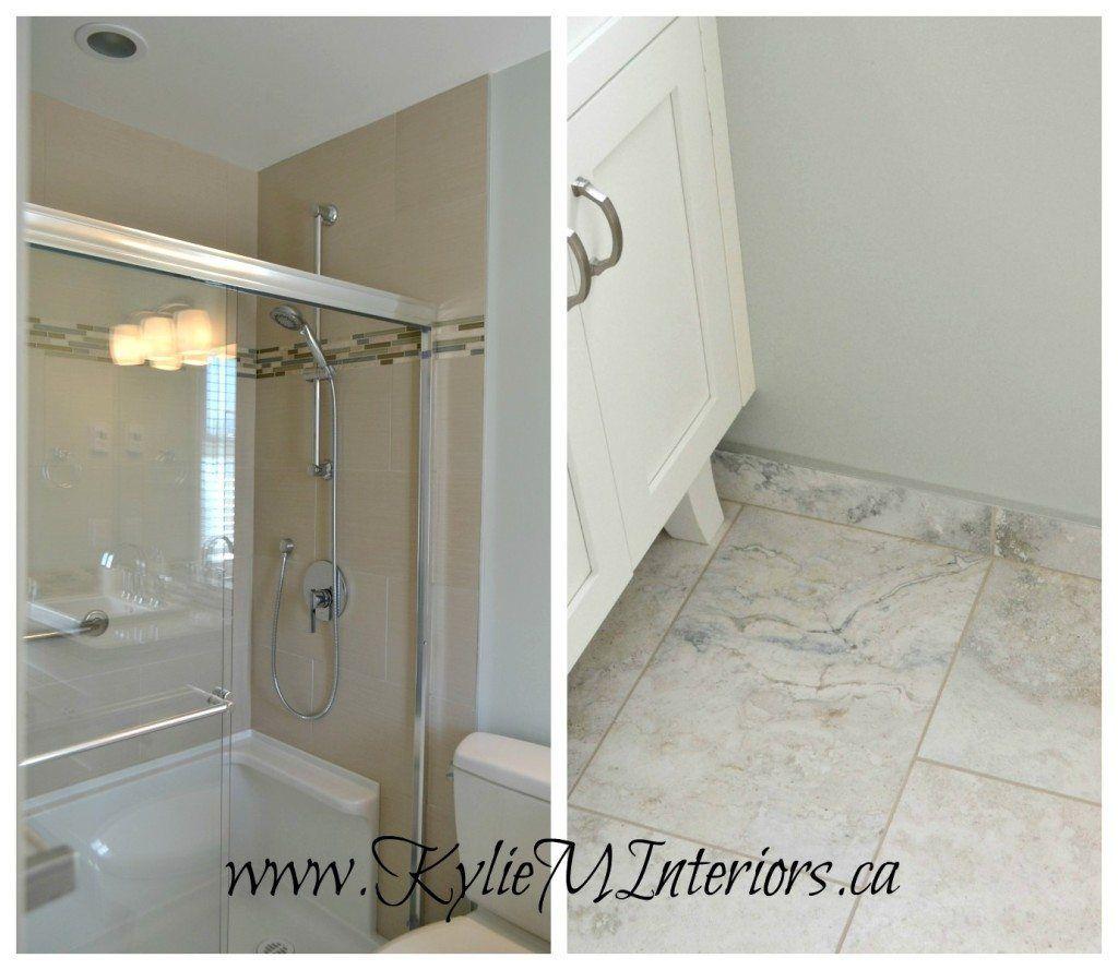 Gray cashmere benjamin moore bathroom paint colour for spa feeling baseboard tile  also