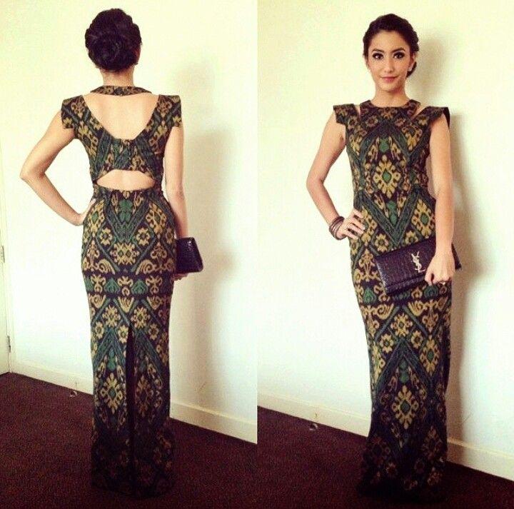 Batik dress  Batik Ikat n Tenun  Pinterest  Batik dress