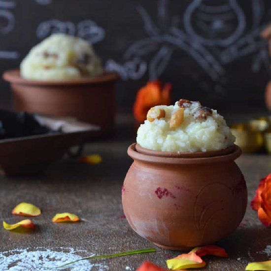 Rice & Sugar Candy Pudding, an authentic South Indian ...