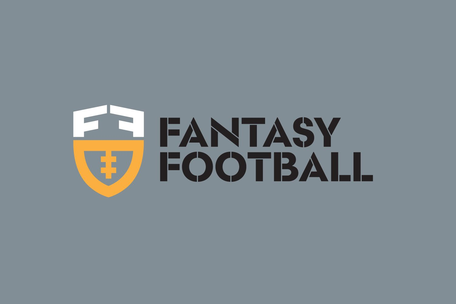 Fantasy Football (With images)   Football logo design ...
