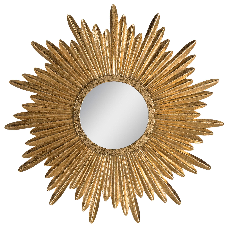 Target Wall Mirror $126 - safavieh decorative wall mirror - gold : target | home
