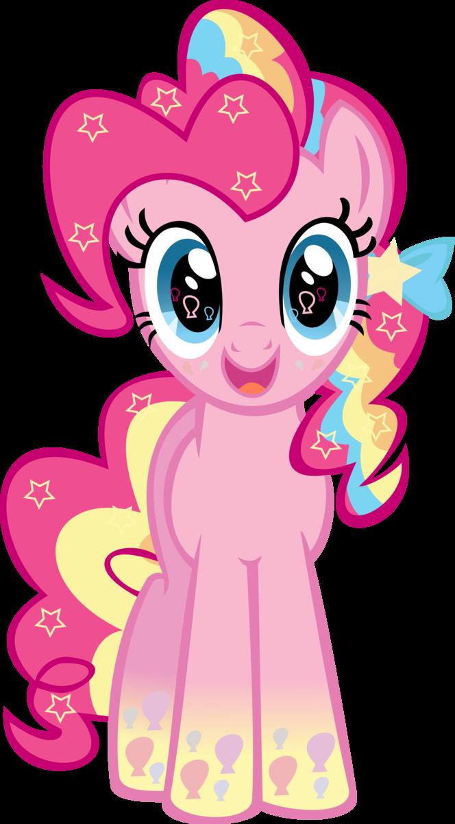 Картинка розовой пони