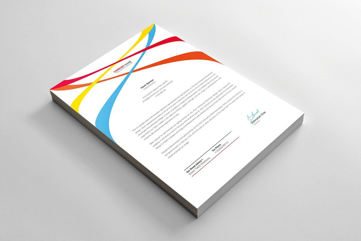 Letterhead in 2020 Letterhead printing, Letterhead