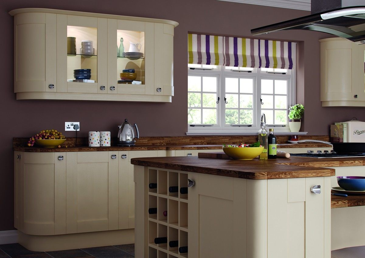 Trend Kitchens Painted Cream Shaker | House design | Pinterest ...