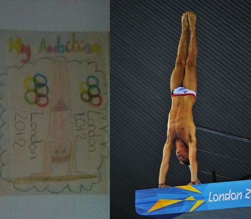 Tom Daley's Secret to Olympic Success in London 2012
