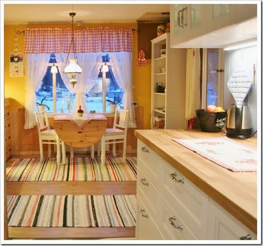 Cuisine Laxarby Ikea Cheap Ikea Ringhult Kitchen With: House Beautiful