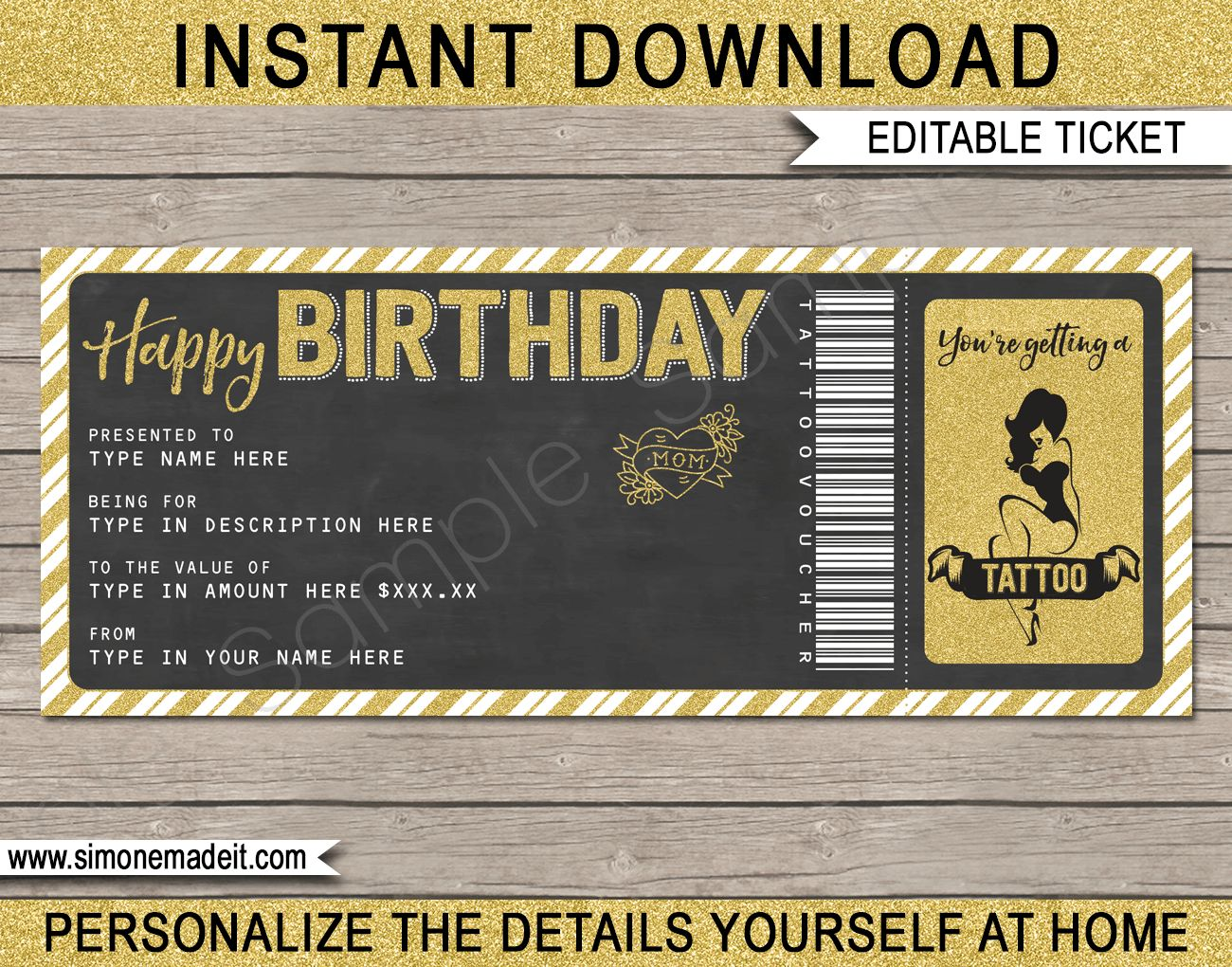 Pin On Cupones Open office gift certificate template