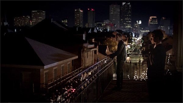 Balcony view of New Orleans - The Vampire Diaries: The Originals