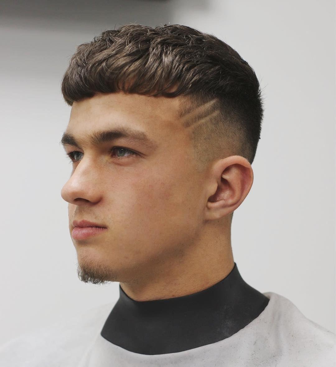 Curly mens haircuts mens hairstyles  kieronthebarberwavymenshairstylecrop
