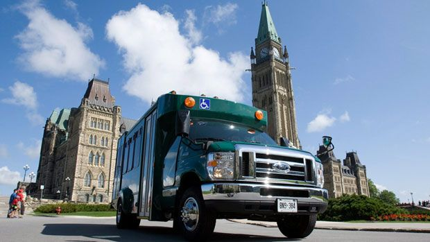 Ottawa wasted $522,257 to reroute shuttle buses for MPs, inconvenienced by renovations to the House of Commons. Do you get paid to travel to work?