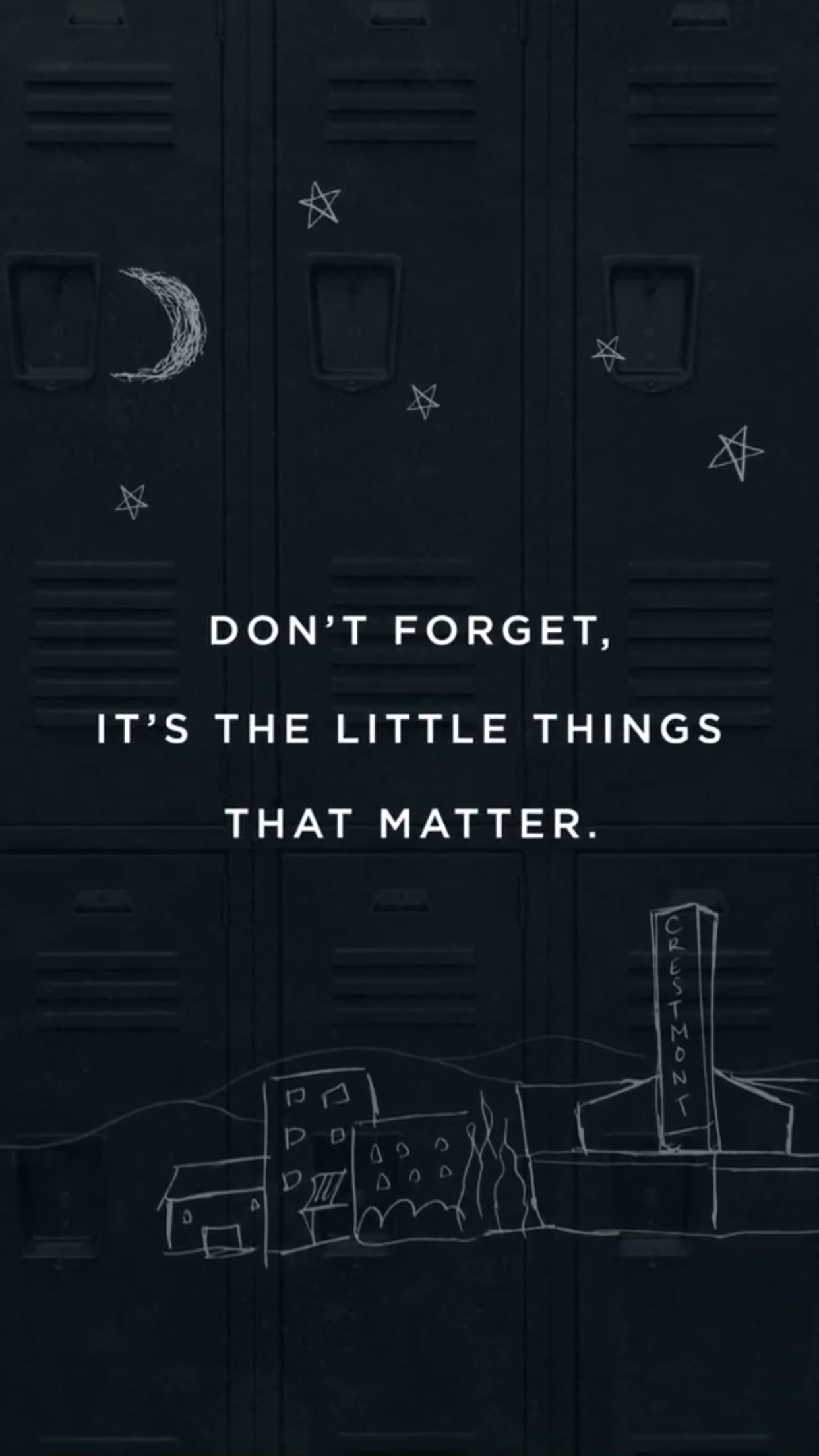 Iphone lock screen wallpaper tumblr quotes - 13 Reasons Why