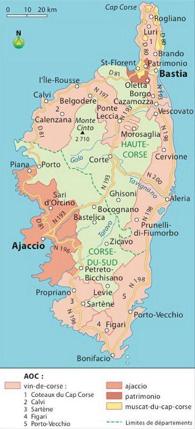 Epingle Par Laurence Bontemps Sur Corse En 2020 Corse Carte