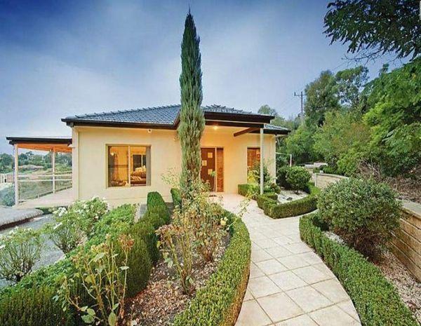 Moderne Gartengestaltung – 100 erstaunliche Gartenideen - landschaft trends weg trendy Gartenideen