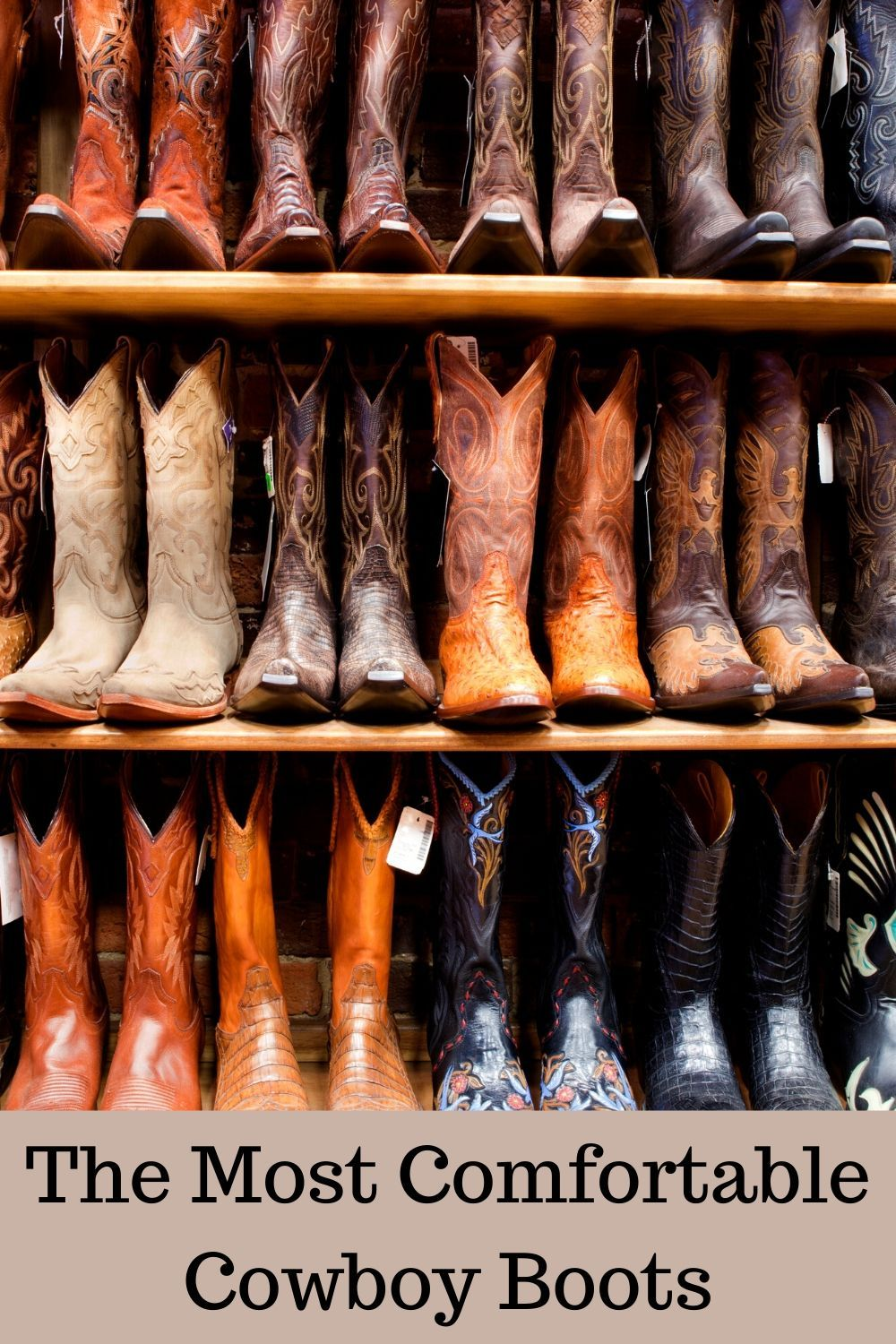 16++ Most comfortable cowboy boots ideas information