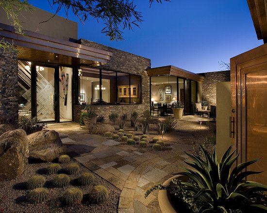 Modern Desert Landscape Design Pictures Remodel Decor And Ideas Page 2 Arizona Backyard Ideas Design Landscape Design Small Backyard Landscaping