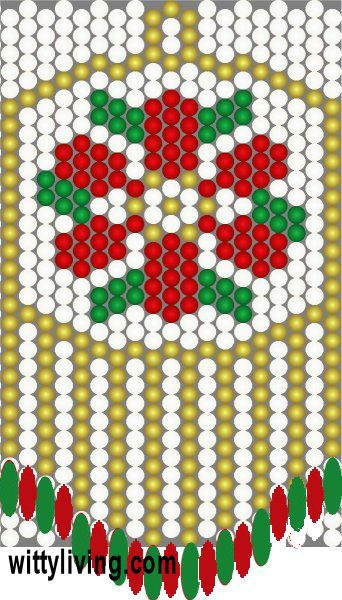 Peyote Alphabet Pattern  Beadwork  BellaOnline  The Voice of