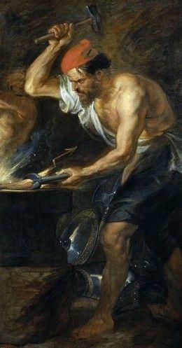 The God Hephaestus In Greek Mythology Peter Paul Rubens