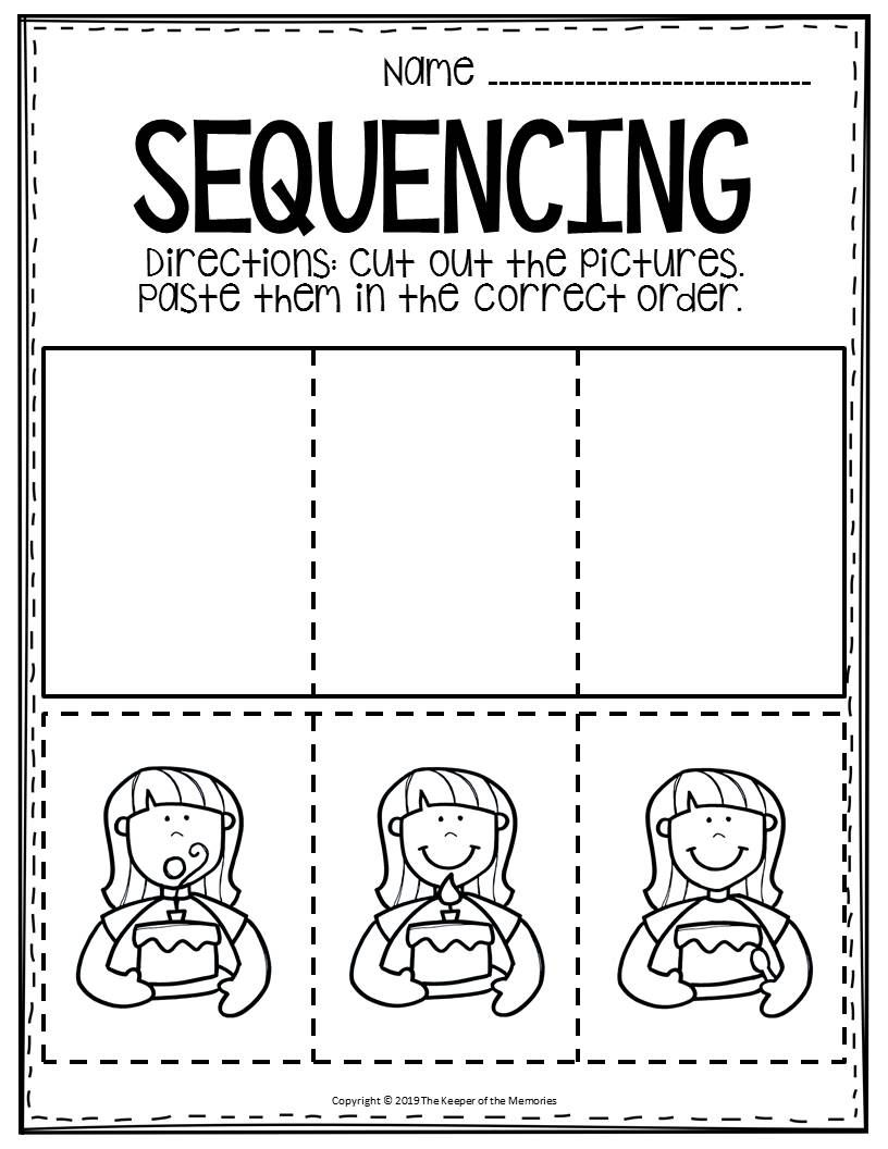 Free Printable Sequence Of Events Worksheets Sequencing Worksheets Story Sequencing Worksheets Sequence Of Events Worksheets [ 1056 x 816 Pixel ]