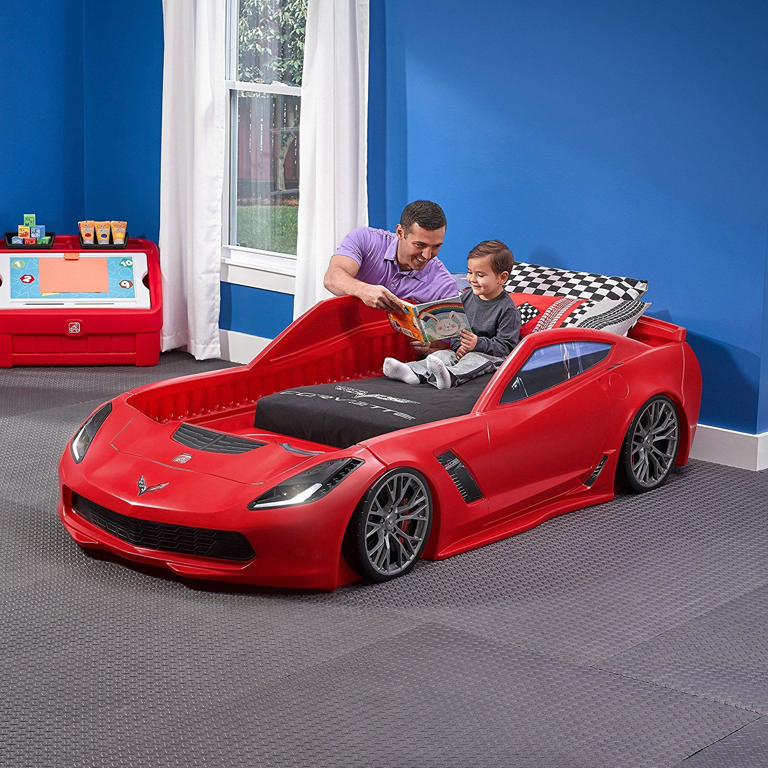 Z06 Toddler Bed to Twin Bed (With images) Toddler car