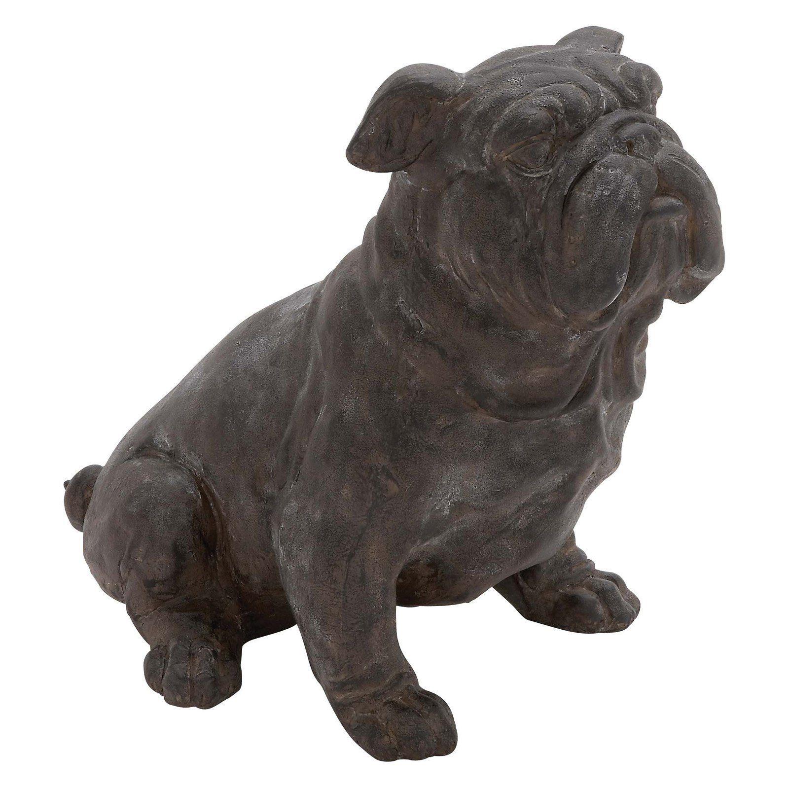 DecMode Bull Dog Sculpture 44718 Dog sculpture